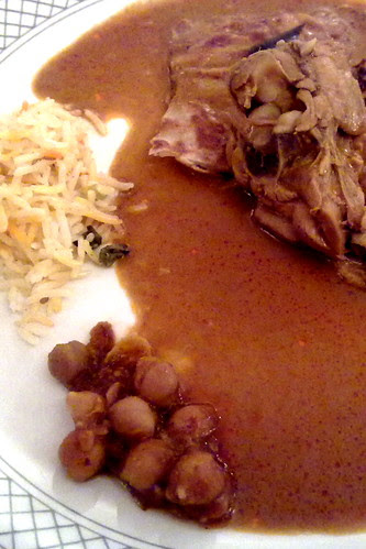 Indian food at Plaza Cafe buffet