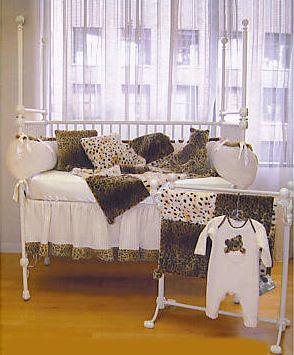 Baby Leopard Print Nursery Theme