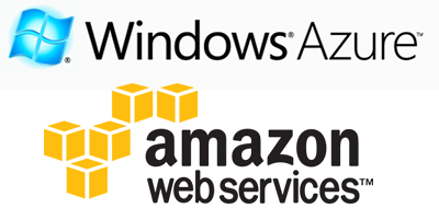 Amazon Web Services and Windows Azure
