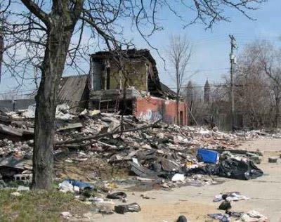 Белый Детройт, похороненный чёрными