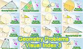 Geometry Problems  - Visual Index 3