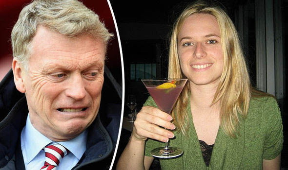 David Moyes and Vicki Sparks