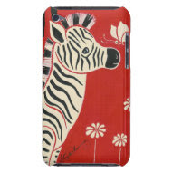 Zebra, Daisies & Butterfly casemate_case