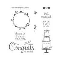 Your Perfect Day Photopolymer Stamp Set