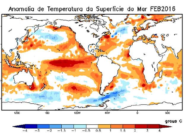 Apac prevê grave seca no Sertão e redução de chuvas em todo estado (Foto: Apac/Reprodução)