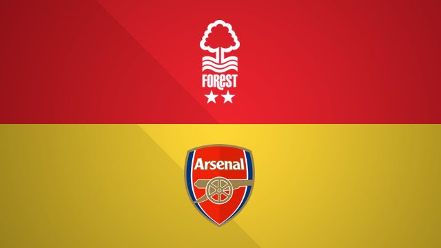 Image result for Nottingham Forest vs Arsenal