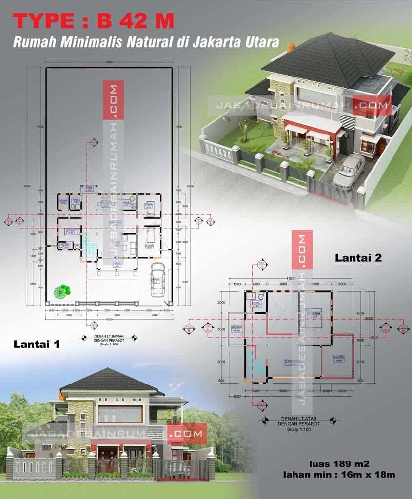 67 Desain Rumah Minimalis Memanjang Ke Belakang Desain Rumah