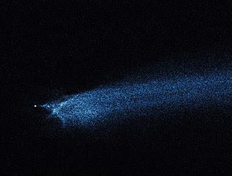 Lo foto scattata dal telescopio Hubble, della Nasa e dell'Agenzia Spaziale Europea