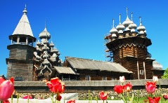 The Church of the Transfiguration of Our   Savior on Kizhi Island, Russia.