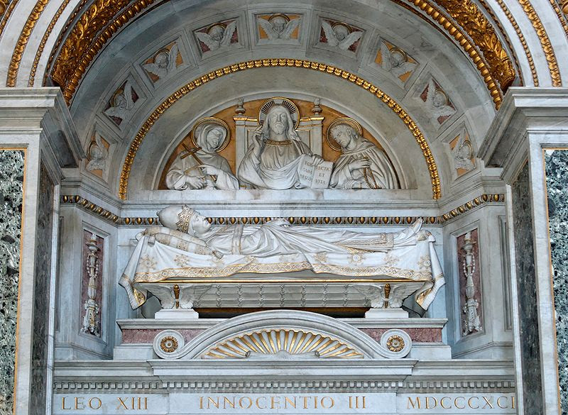 File:Tomb Innocentius III San Giovanni in Laterano 2006-09-07.jpg