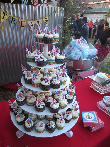 Carnival Wedding Cupcakes