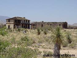 Prominent structures seen in ''Buffalo Soldiers'' are ragged with roof problems and what appears to be fire damage. Photo copyright 2003-2004 Mike Durrett, all rights reserved.