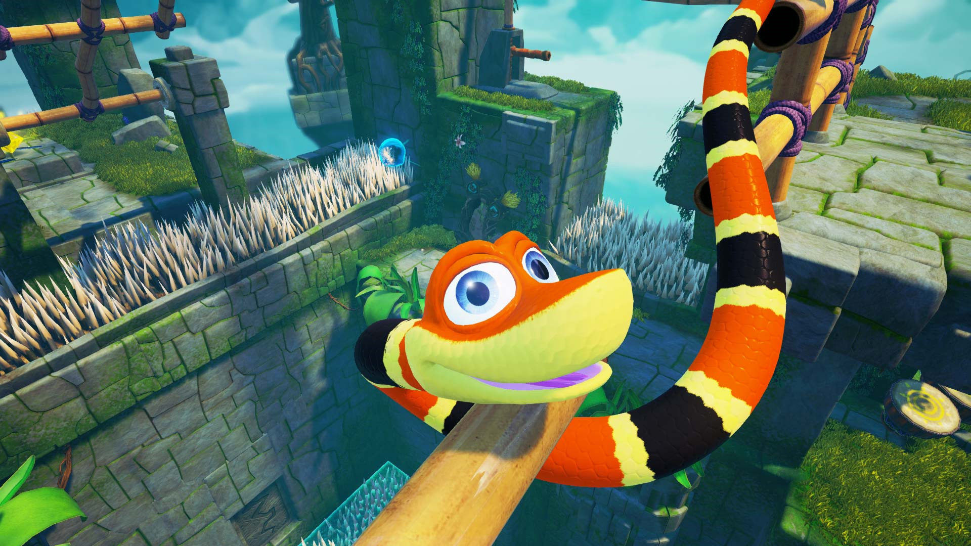 Snake Pass discounted on Nintendo Switch and PC screenshot