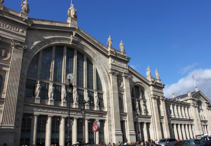 Gare du Nord station in Paris