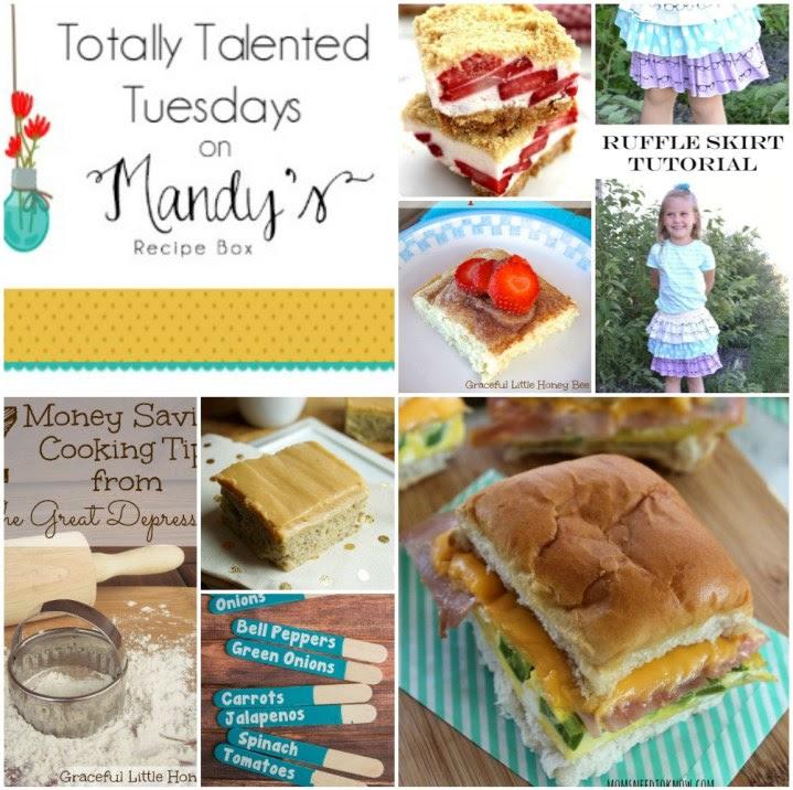 http://mandysrecipeboxblog.com/2015/04/totally-talented-tuesdays-88.html