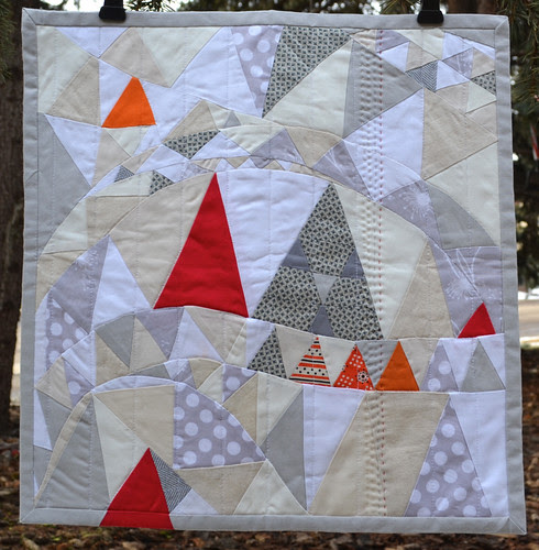 For me from Janice - Sewgirly! - Fab Little Quilt Swap