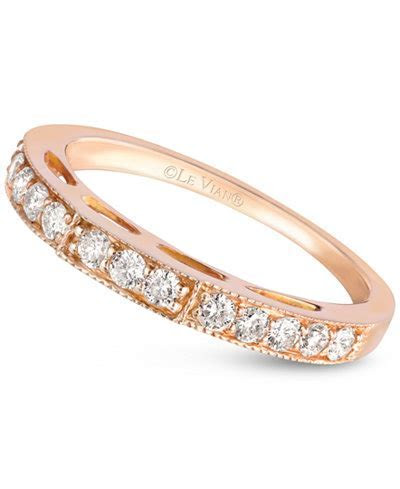 Le Vian Diamond Wedding Band (3/8 ct. t.w.) in 14k Rose