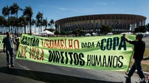 Brasileiros têm coragem de dizer o que os britânicos não tiveram, diz 'Guardian' (Foto: AFP)