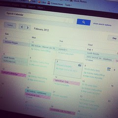 Seriously #google? You made my calendar look like a freaking Easter egg.
