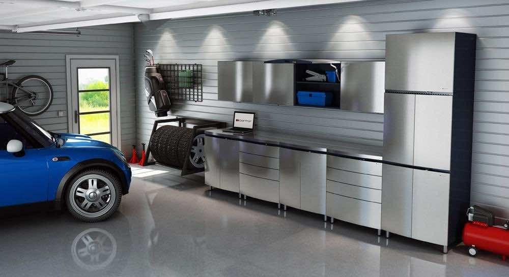 Modern Car Garage Interior Design, Garage Interior Design Ideas