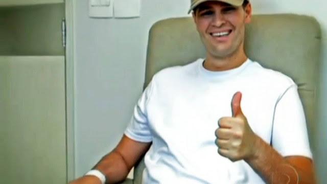 Cantor ainda não sabe, mas terá alta do hospital amanhã.