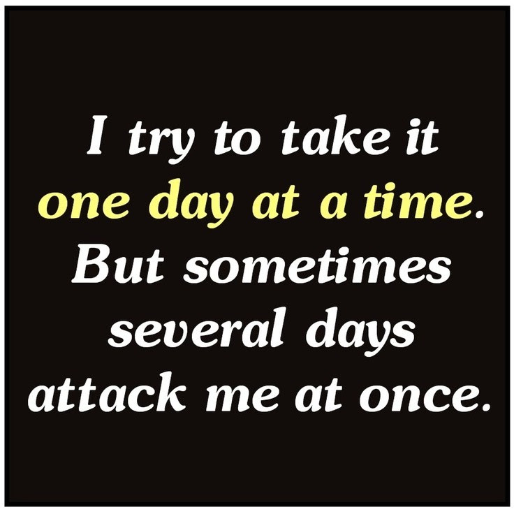 One Day At A Time Quote Quote Number 608643 Picture Quotes