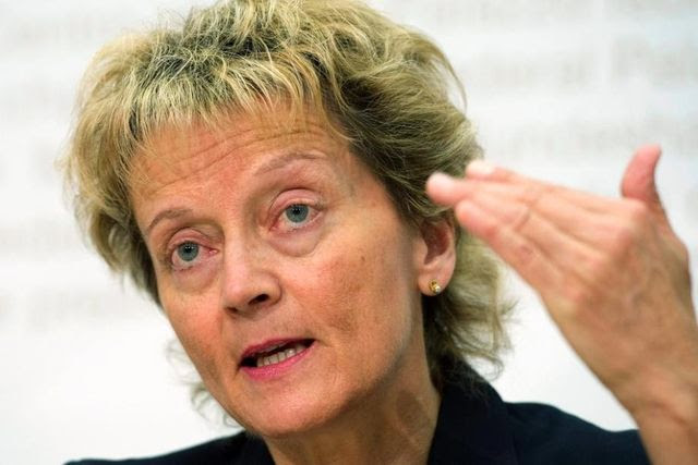 Die Schweiz soll den internationalen Standart erfüllen: Finanzministerin Eveline Widmer-Schlumpf.