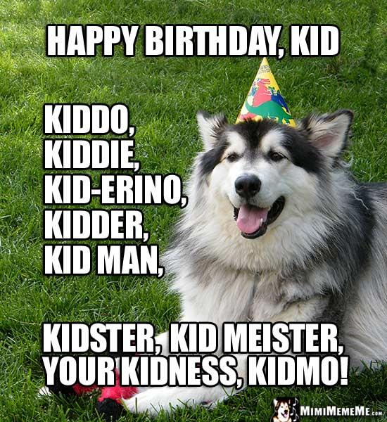 Happy Birthday Bud Funny Animals Wish Bro Pal Cousin And Kid A