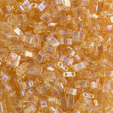 HTL0251 Miyuki -  Half Tila - Light Amber AB