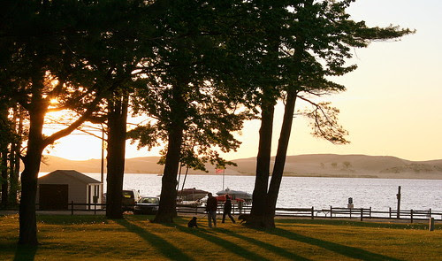 A Summer evening in Mears, Michigan