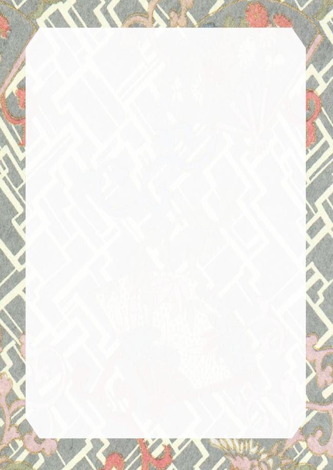 和の便箋 無料テンプレート 千代紙 2 Template Millionテンプレート
