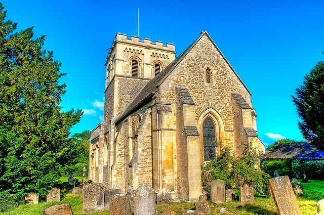 St Mary's, Iffley, Oxfordshire