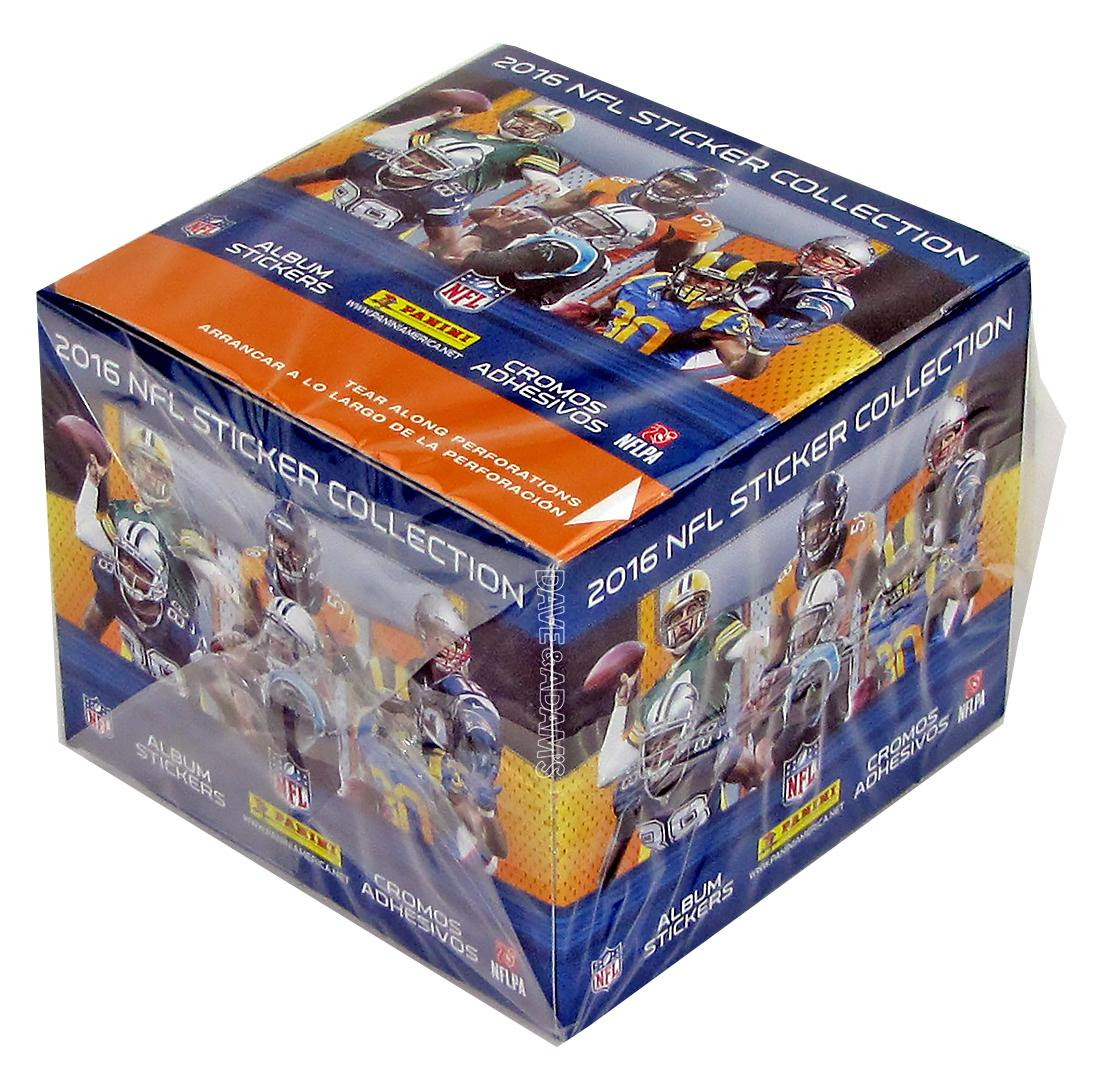 2016 Panini NFL Football Sticker Box  DA Card World