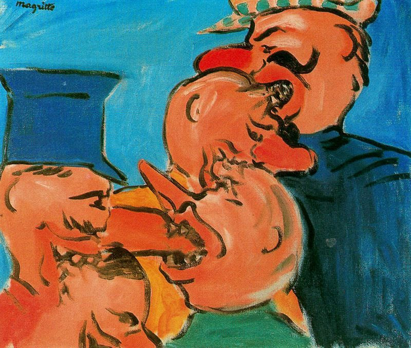 The famine, 1948 Rene Magritte