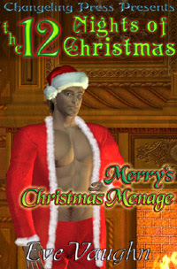 SPOTLIGHT: Merry's Christmas Ménage by Eve  Vaughn
