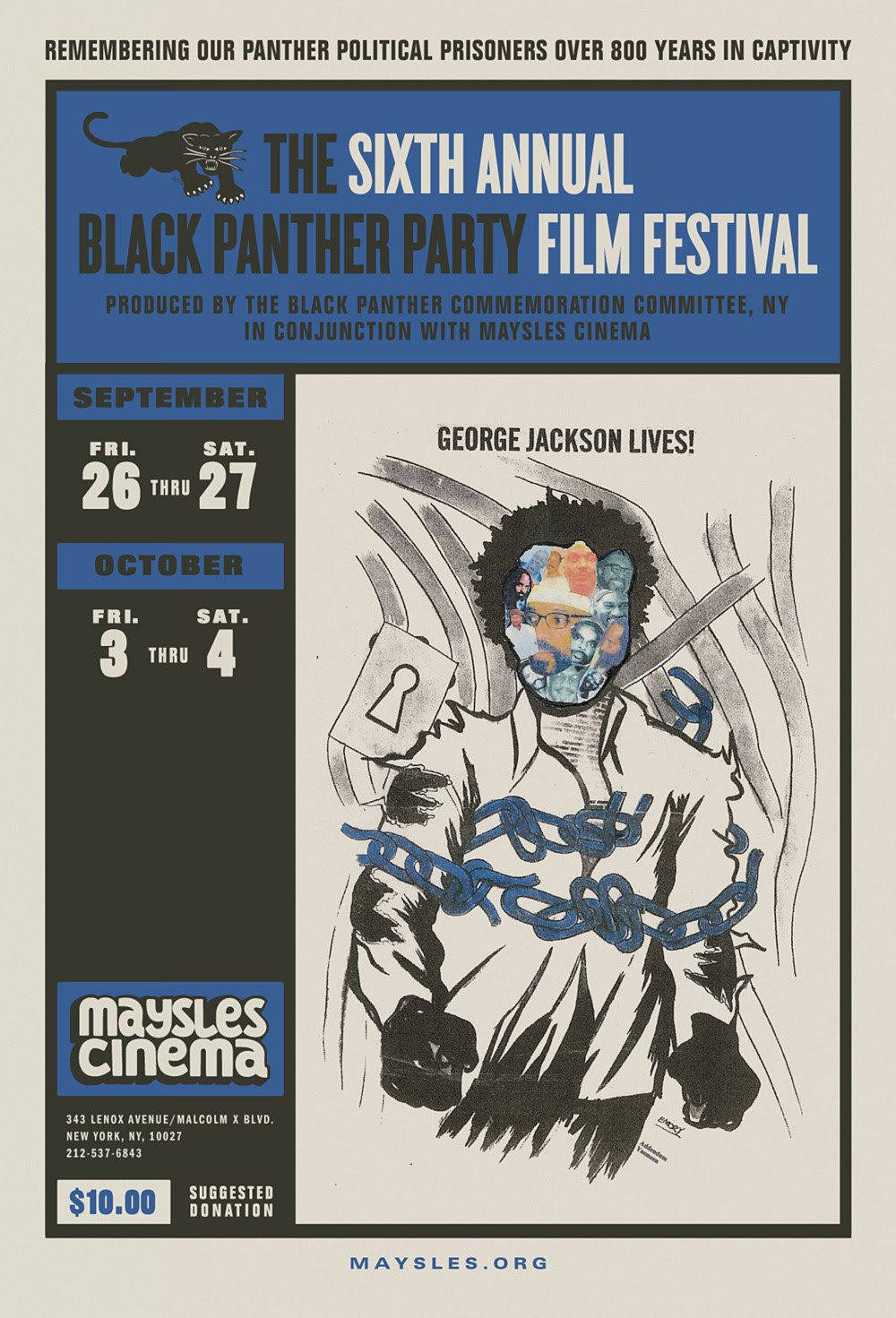 The Sixth Annual Black Panther Party Film Festival