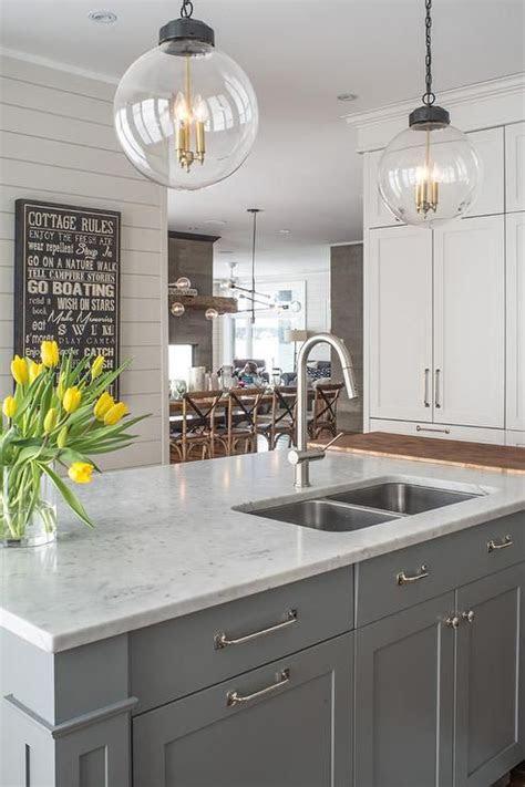 gray  white color  kitchen kitchen remodel grey