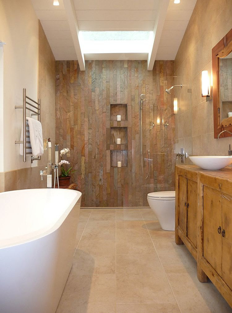 9 Charming and Natural Rustic Bathroom Design Ideas ...