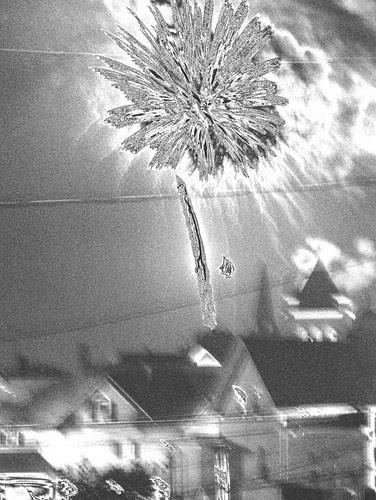 jessy kendall - fireworks2 by jim leftwich