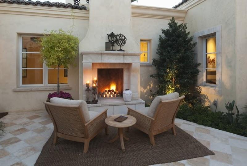 Cool Luxury Fireplace Designs wallpaper