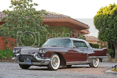 Frank Sinatra's 1958 Cadillac Eldorado Brougham is estimated to be valued between $275,000 - $325,000.