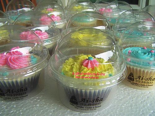 Doorgift Cupcakes 3