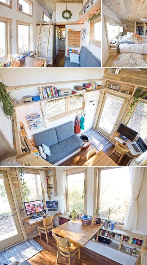 tiny house living ideas  pinterest tiny