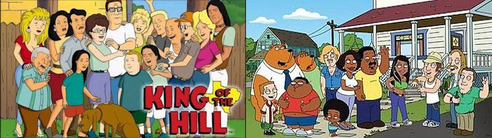 King of the Hill & The Cleveland Show