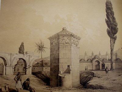 Αποψη των αέρηδων το 1700