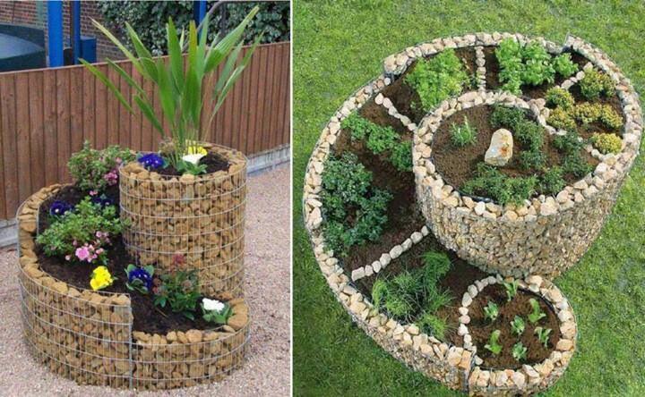DIY Herb Spiral Garden