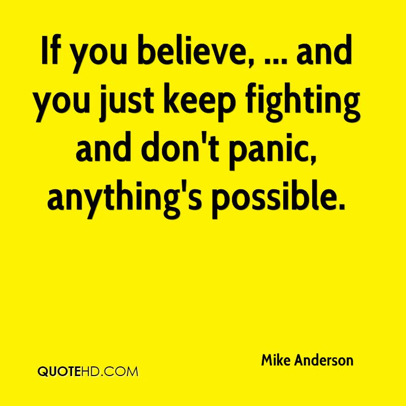 Mike Anderson Quotes Quotehd