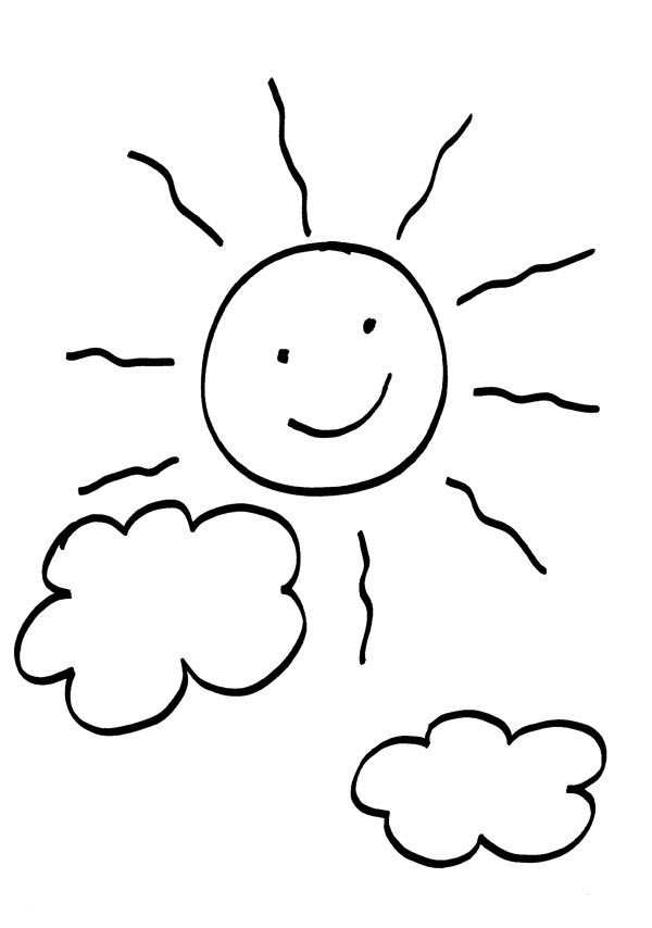 Sol Para Colorear E Imprimir Imagui