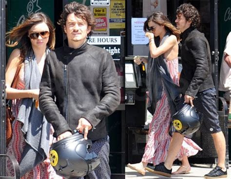 Pictures of Orlando Bloom With Pregnant Miranda Kerr in