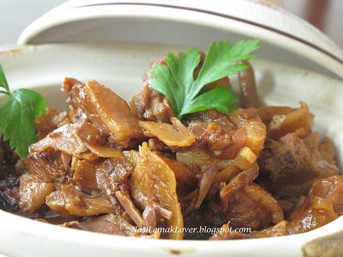 Braised Tauchu duck ( fermented soy bean duck)